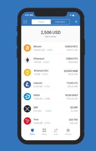 Binance Review - Trust Wallet App