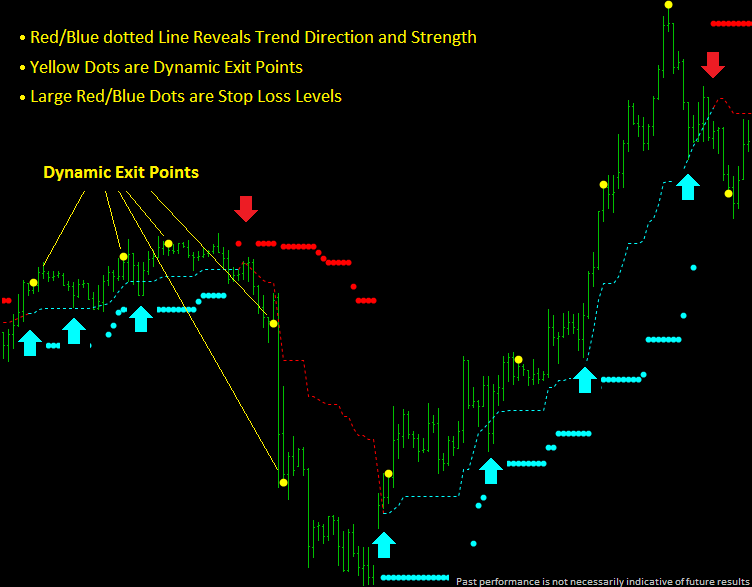 Dynamic Trend Trader Review - Exit Points