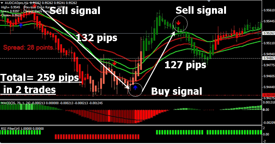 FX Profit Storm Review - Chart Screenshot