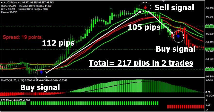 FX Profit Storm Review - Trade Examples