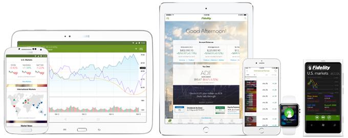 Fidelity Review - Mobile Platform