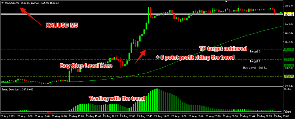 Forex Pips Master Premier Review - Trade Example 2