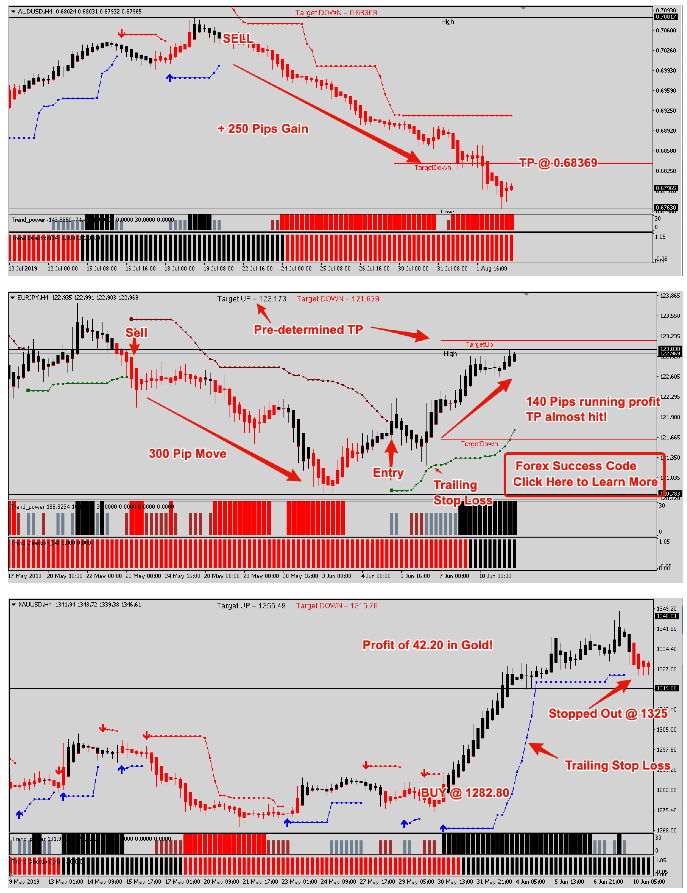 Forex Success Code Review - Trade Examples