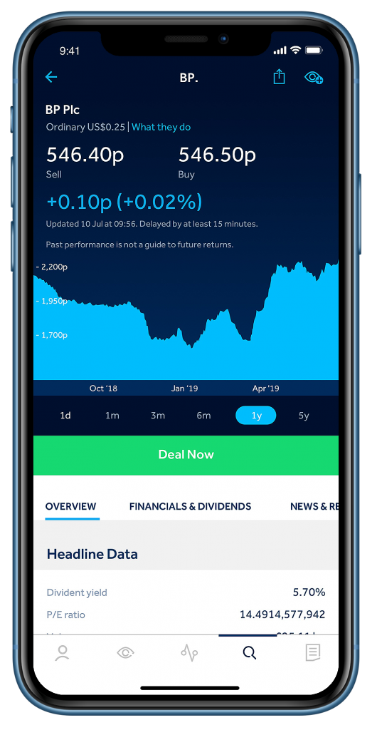 Hargreaves Lansdown Review - Mobile Trading App