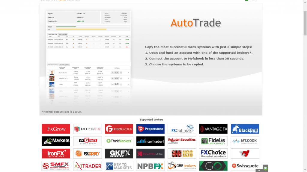Myfxbook Review - Auto Trading