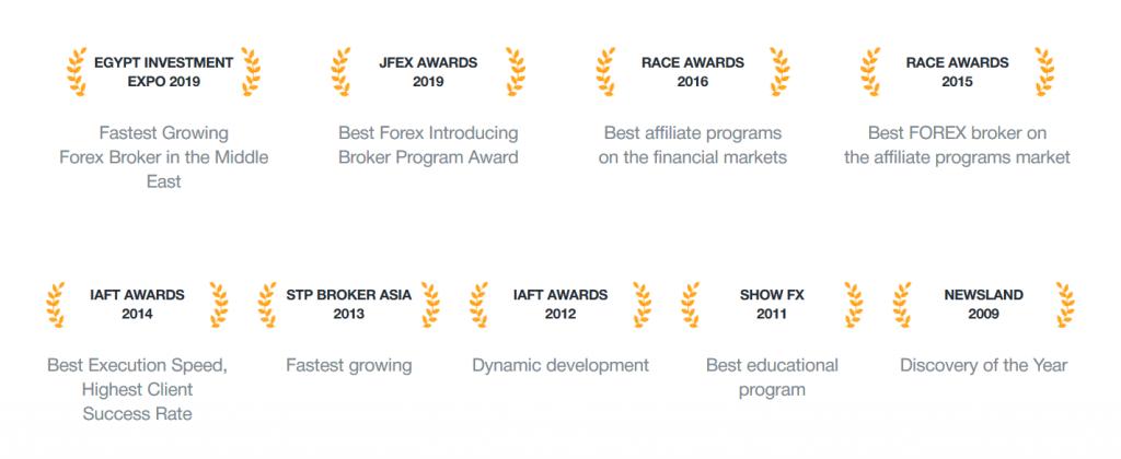 AMarkets Review - Brokerage Awards