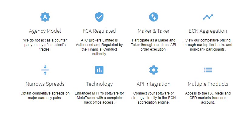 ATC Brokers Review - Features