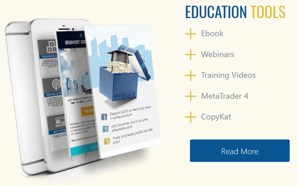 CM Trading Review - Education & Tools