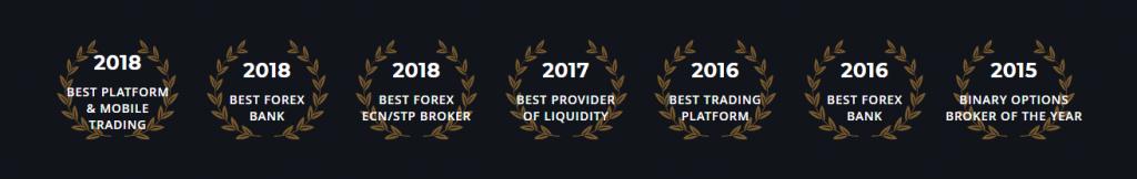 Dukascopy Review - Awards