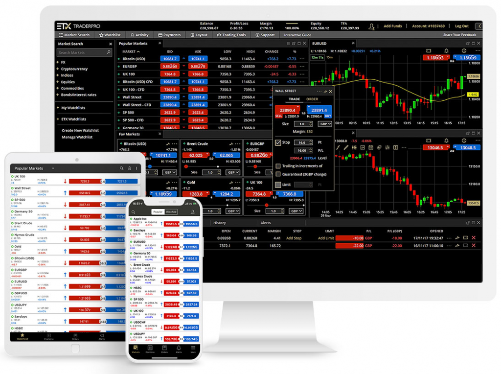 ETX Capital Review - TraderPro Platform