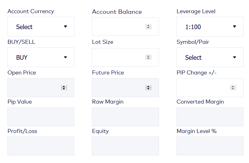 Global Prime Review - FX PIP calculator