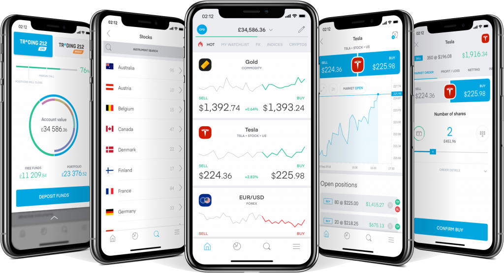 Trading 212 Review - Mobile Application
