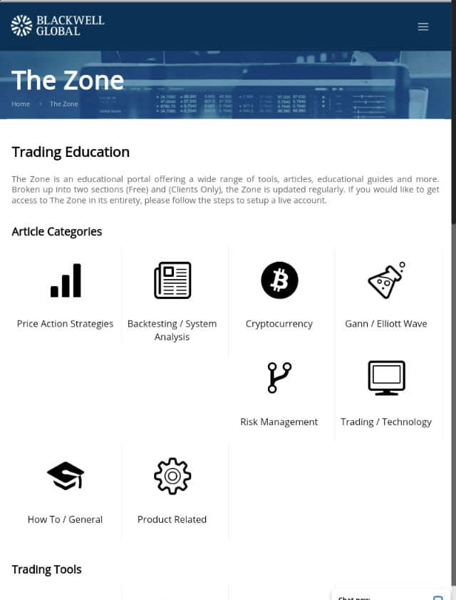 Blackwell Global Review - The Zone
