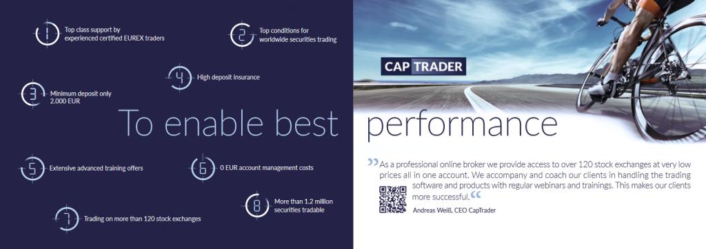 CapTrader Review - Broker Features