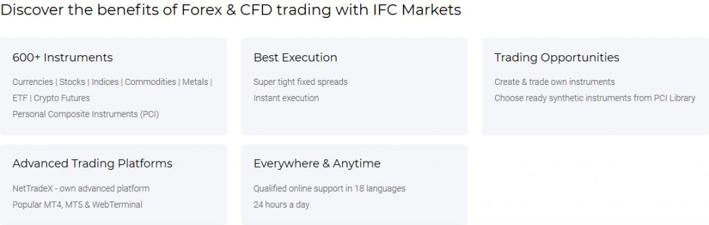 IFC Markets Review - Broker Features