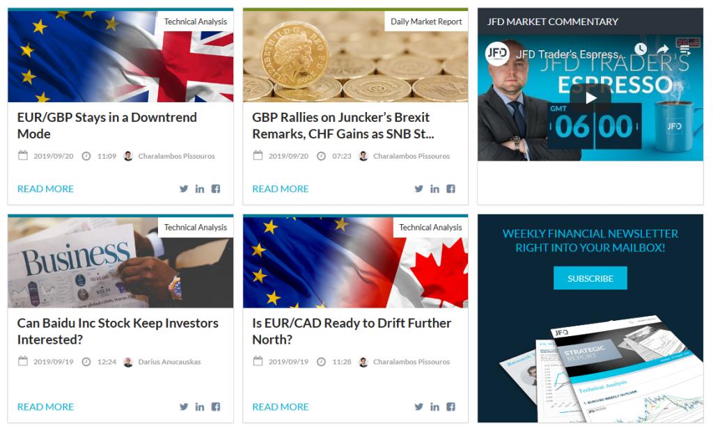 JFD Bank Review - Market News & Analysis