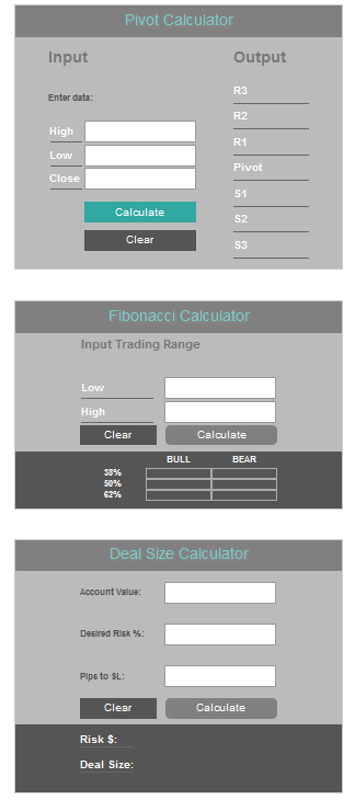 LegacyFX Review - Trading Calculators