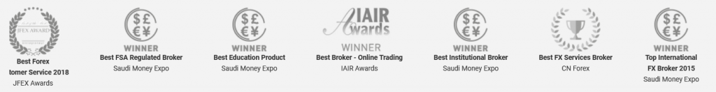 One Financial Markets Review - Broker Awards