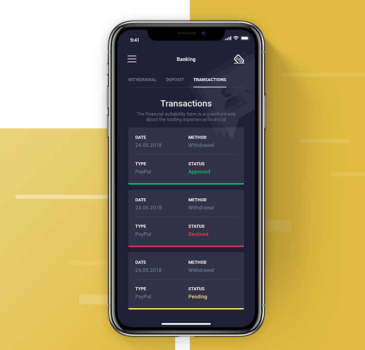 Q8 Trade Review - Mobile Trading App