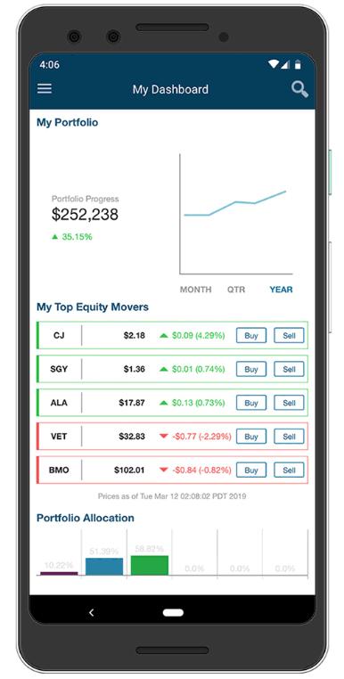 Qtrade Review - Mobile Trading Platform