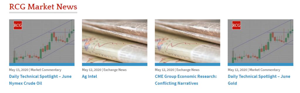 RCG Review - Market News