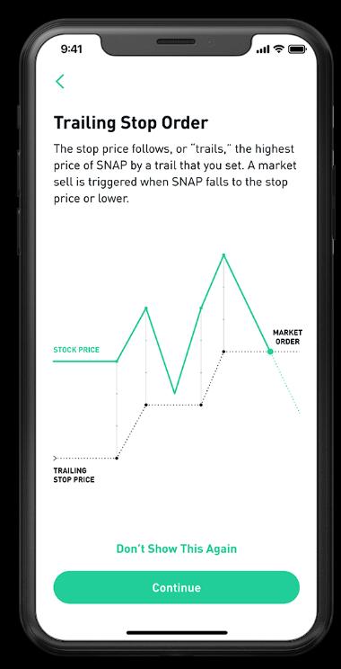 Robinhood Review - Mobile App Trade Management