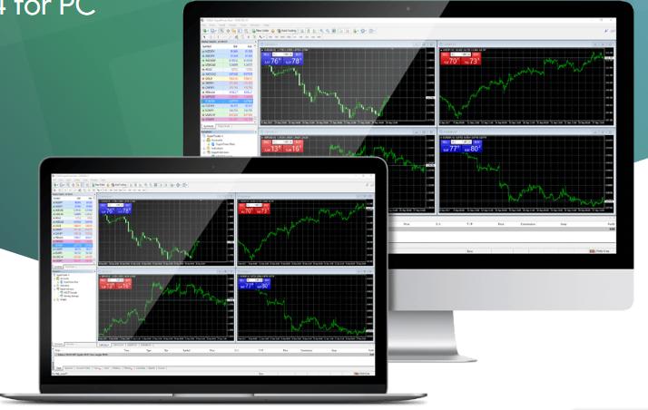 SuperForex Review - MT4 Desktop