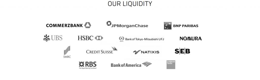 Titan FX Review - Liquidity Providers