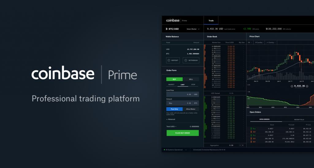 Coinbase Review - Coinbase Prime Platform
