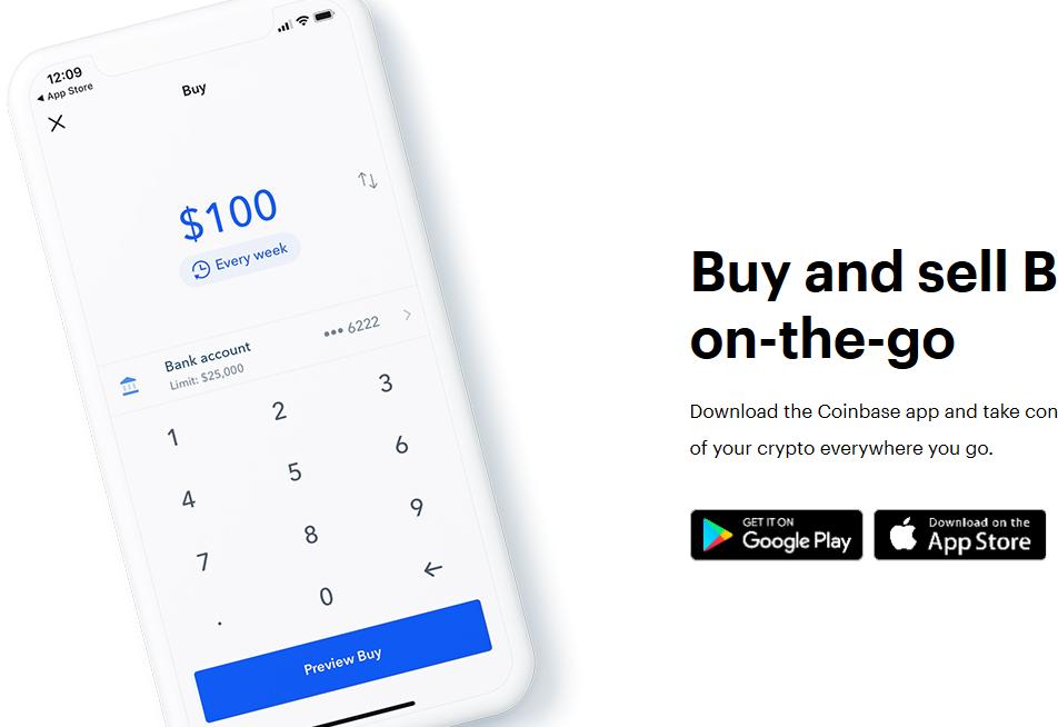 Coinbase Review - Mobile App