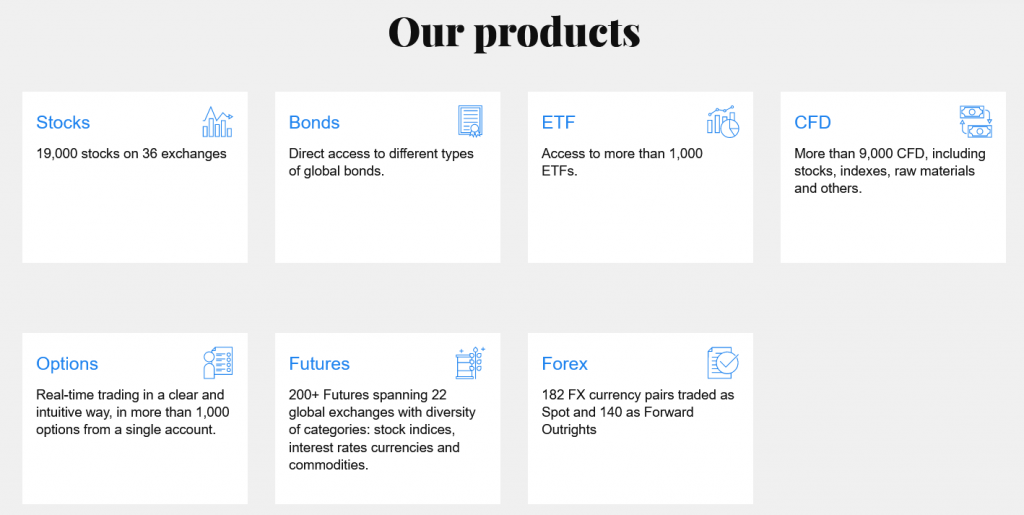 DIF Broker Review - Trading Instruments