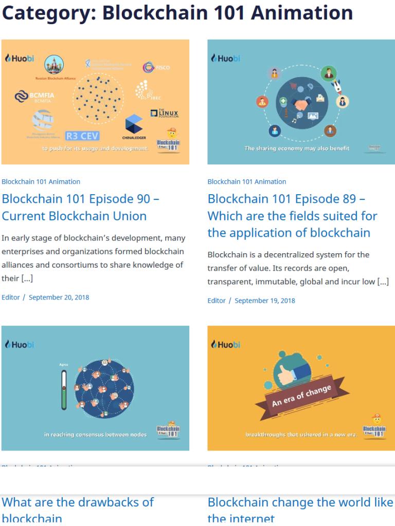 Huobi Global Review - Blockchain 101