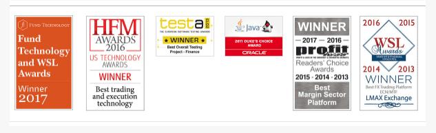 LMAX Review - LMAX Awards
