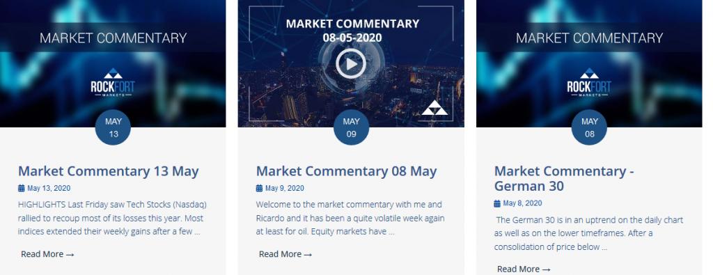 Rockfort Markets Review - Market Analysis