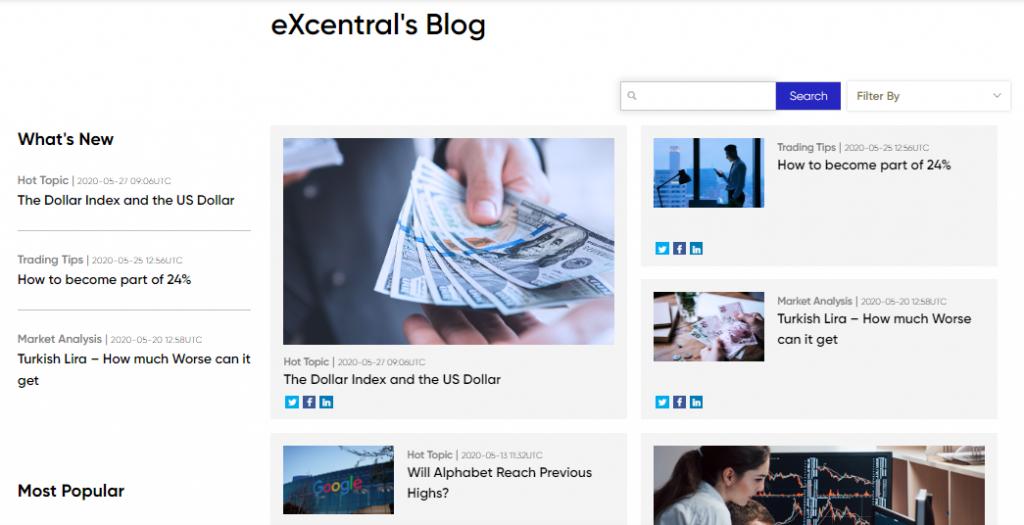 eXcentral Review - Broker Blog