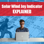 Solar Wind Joy Indicator
