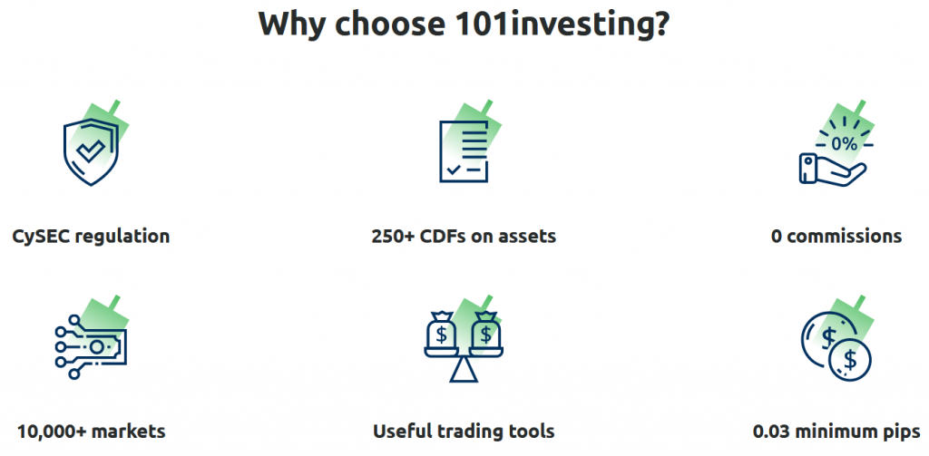 101investing Review - Broker Features