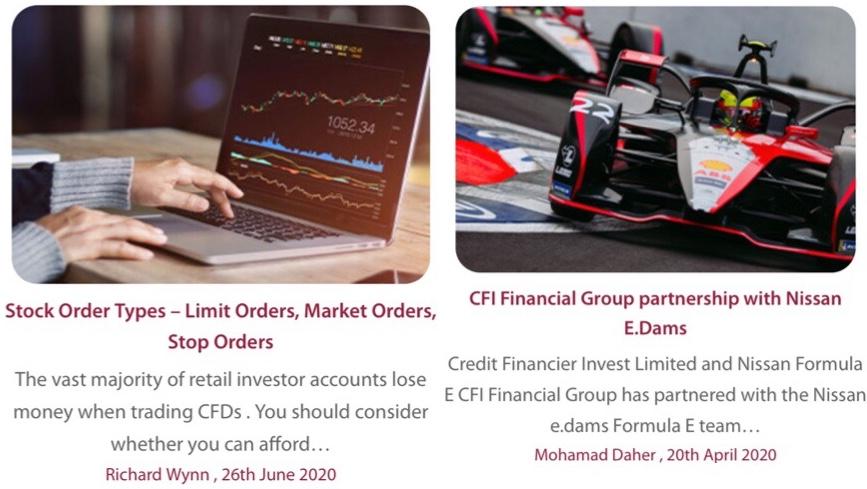 Credit Financier Invest Review Trading Blog