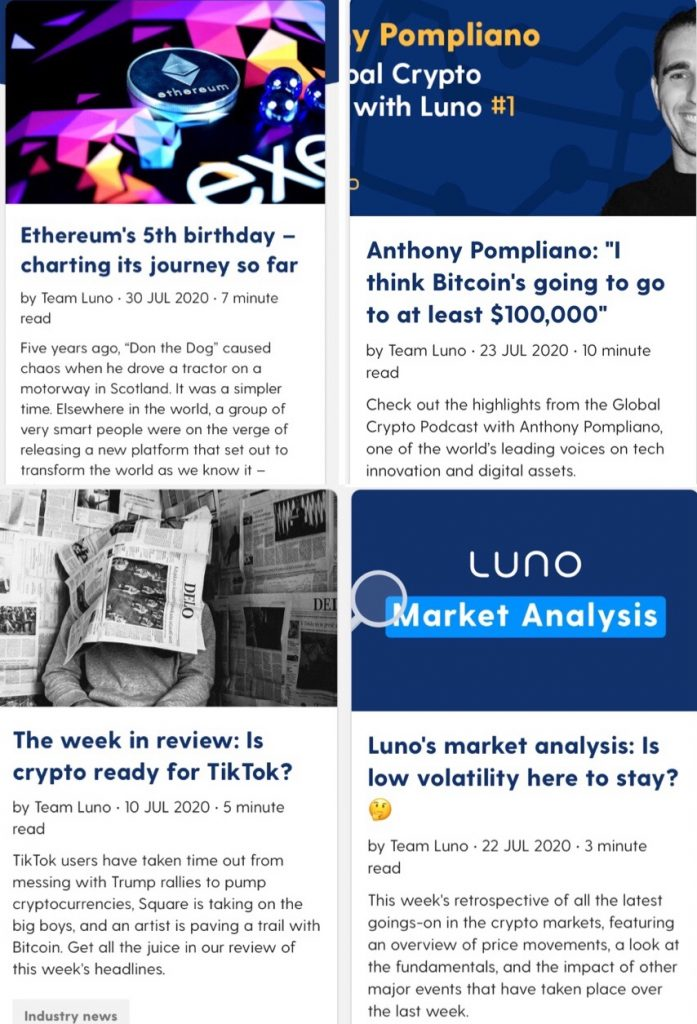 Luno Review Trading Blog