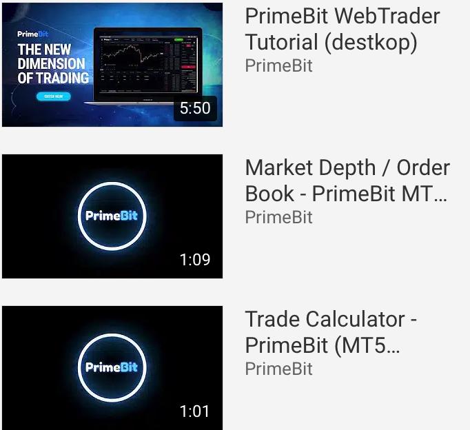 PrimeBit Review Video Tutorials