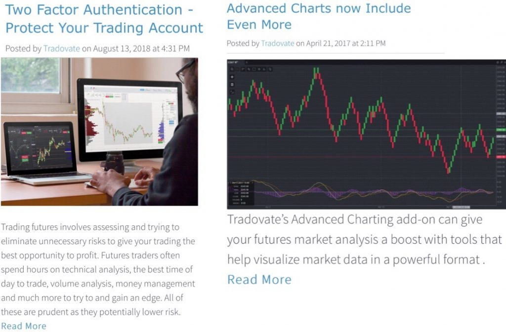 Tradovate Review Trading Blog