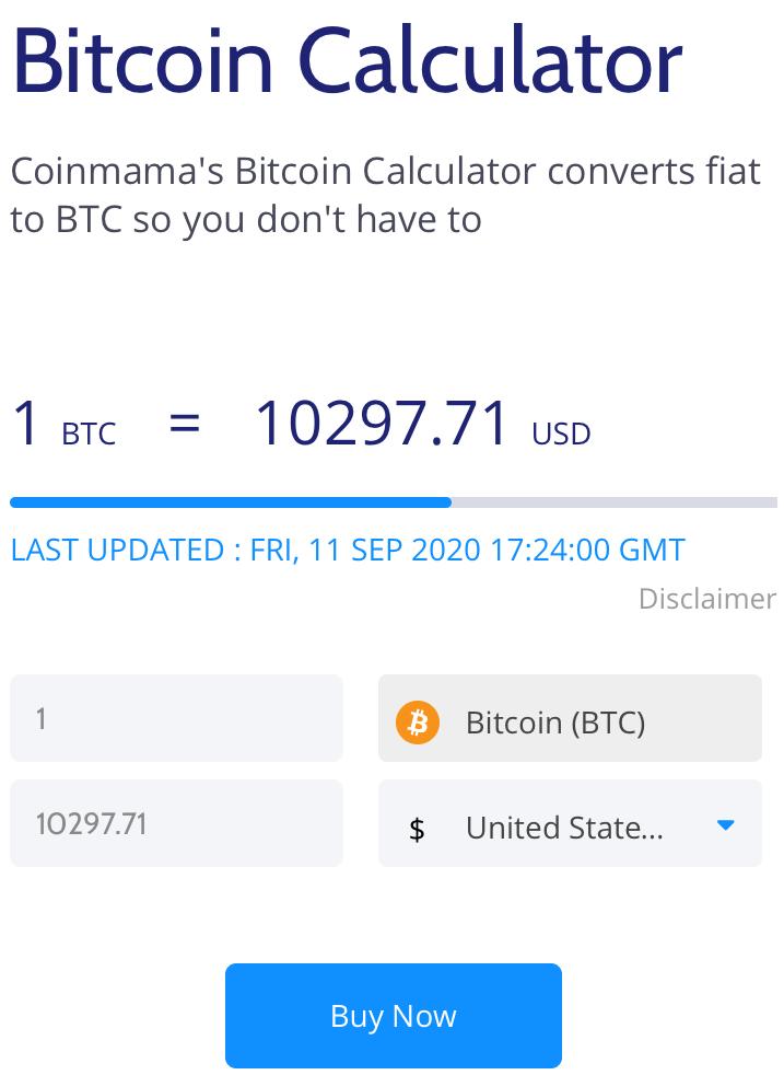 Coinmama Review Bitcoin Calculator