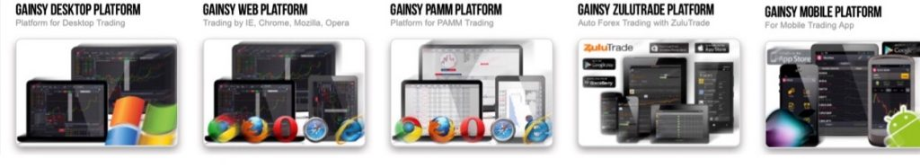 GAINSY Review Trading Platform
