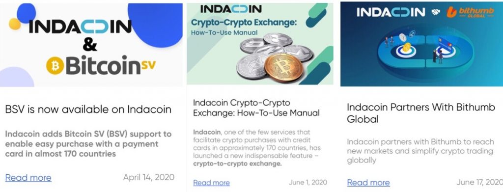 Indacoin Review Blogs