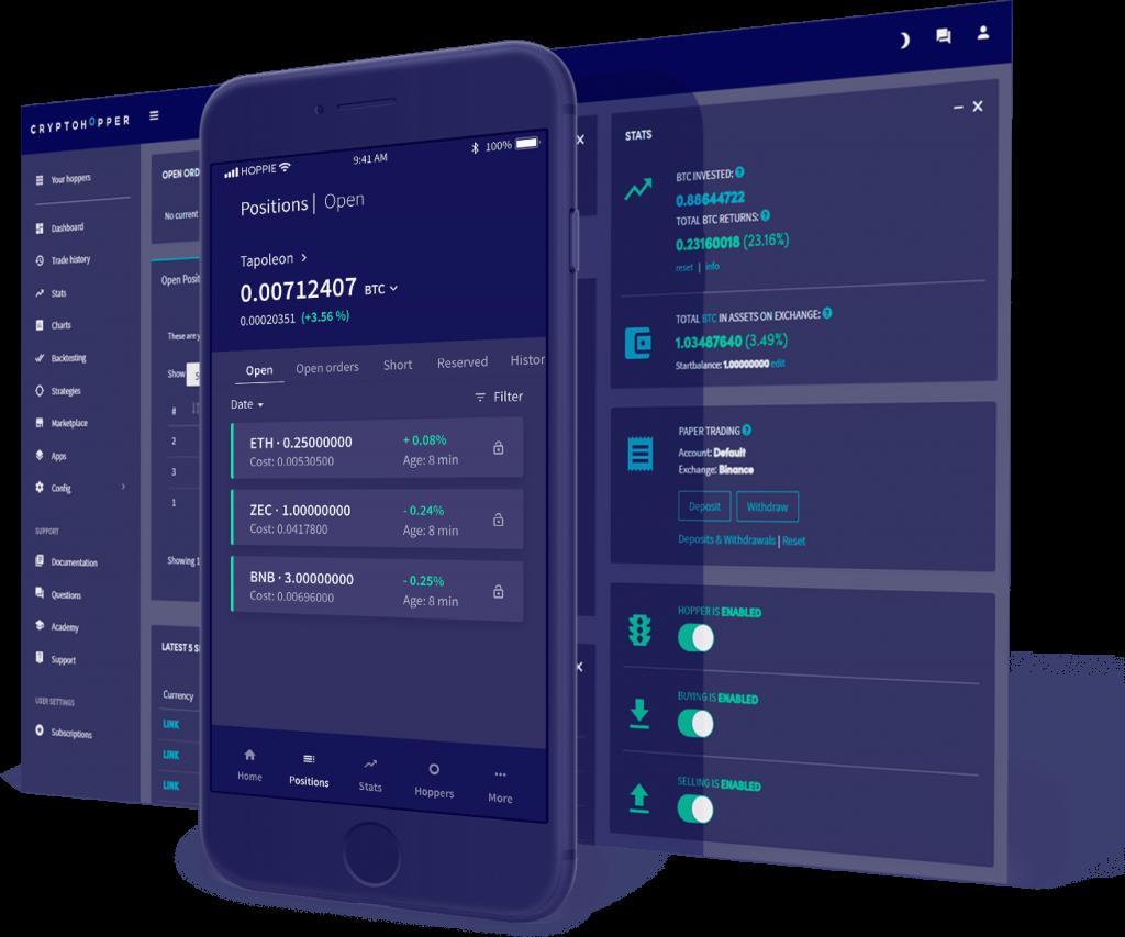Cryptohopper Review - Crypto Platform