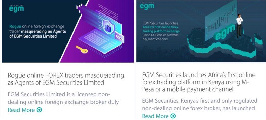 EGM Securities Review Blogs