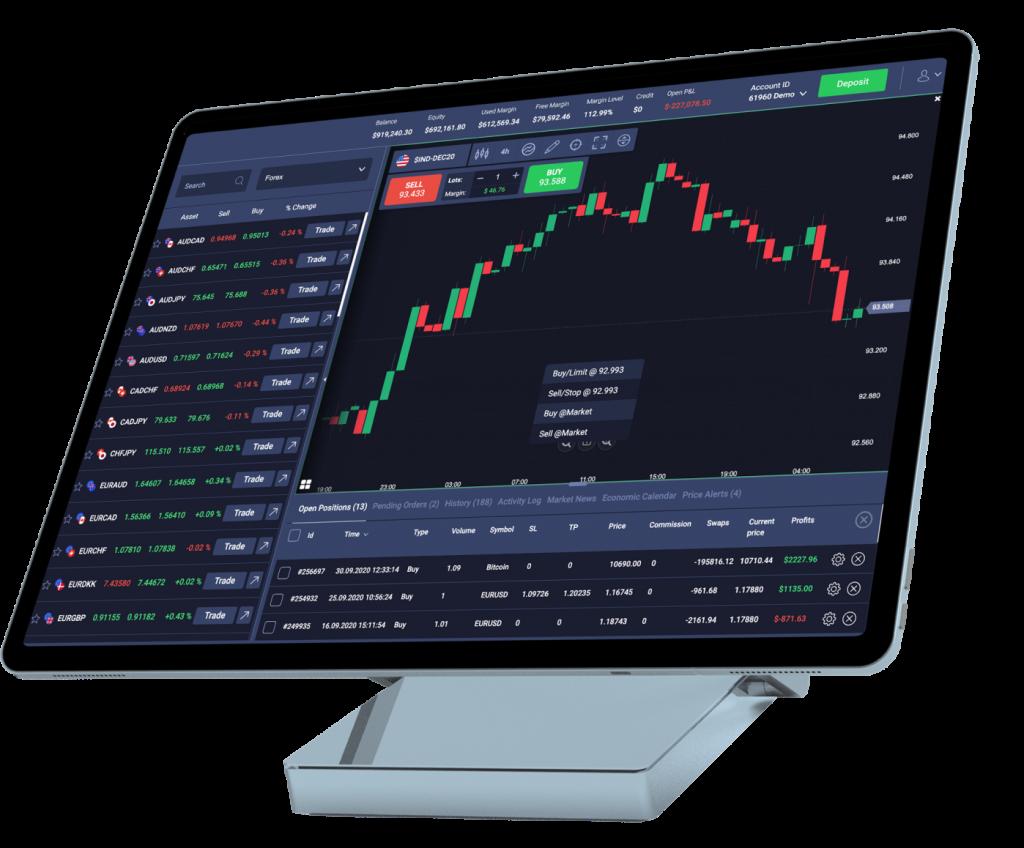InvestLite Review WebTrader Platform