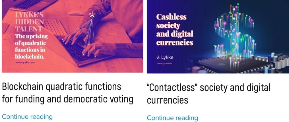 Lykke Review Crypto News