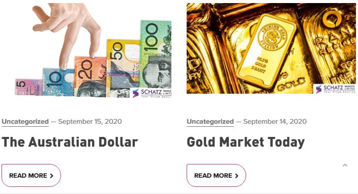 SCHATZ Markets Review News