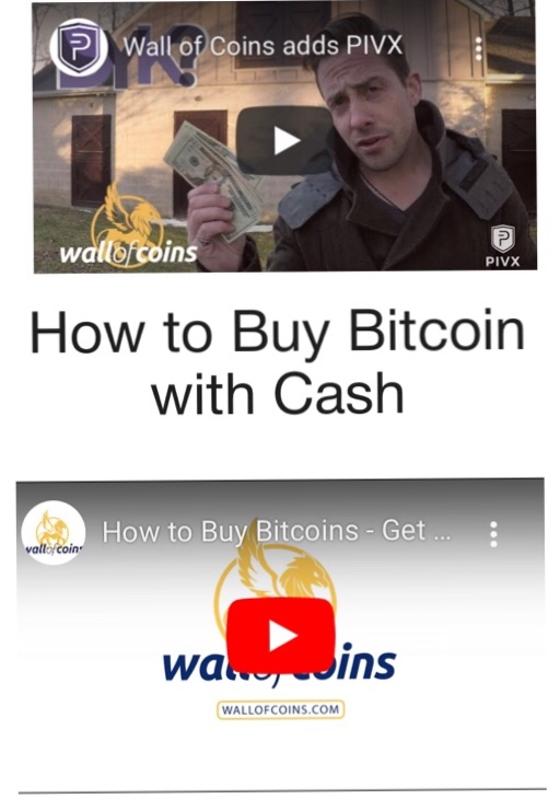 Wall of Coins Crypto Videos